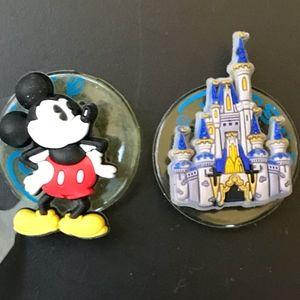 Mickey Mouse and Disney Castle Jibbitz